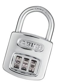 ABUS 160/40 All Weather Chrome Combination Padlock