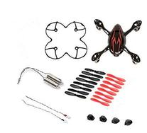 AFUNTA for Hubsan X4 H107C Quadcopter Red / Black Spare