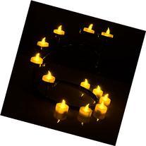 AGPtek® Set of 100 Flameless & Smokeless Realistic Light