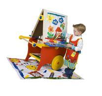 ALEX Toys Artist Studio Super Rolling Art Center With Paper