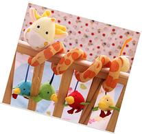 AQURE® Giraffe Baby Crib Activity Spiral Stroller Toy  from