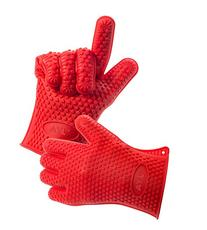 AYL Silicone Heat Resistant Grilling BBQ Gloves for Cooking