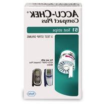 Accu-Chek Compact Plus Diabetes  Strips 51/Box