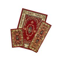 Achim Home Furnishings Capri 3-Piece Rug Set, Savonnerie -