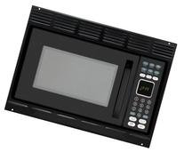 Advent MW912BK Black Built-in Microwave Oven with Trim Kit
