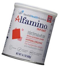 Alfamino Infant Free Unflavored Amino Acid Formula Powder
