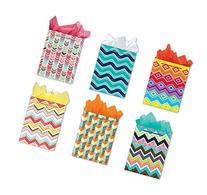 All Occasion Party Gift Bags Set of 6 Medium Birthday Gift