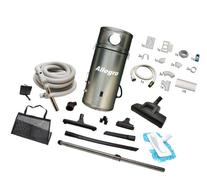 Allegro Central Vacuum Deluxe Straight Air Package & 1 Inlet