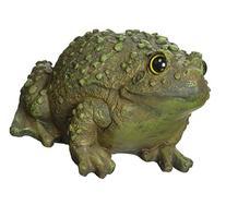 Alpine Frog Leaping Garden Statue