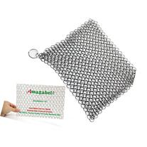 """Amagabeli 8""""x6"""" Stainless Steel Cast Iron Cleaner 316L"""