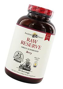 Amazing Grass - Raw Reserve Green Superfood Berry, 8.5 oz
