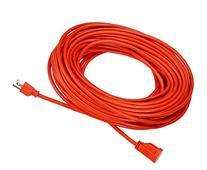 AmazonBasics 16/3 Vinyl Outdoor Extension Cord | Orange, 100