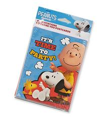 American Greetings Peanuts Invite and Thank You Combo Pack