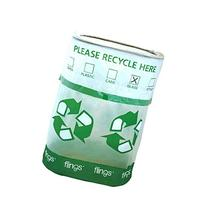 Amscan Flings Bin - Recycle Patented Pop-Up Trash Bin, 22 x