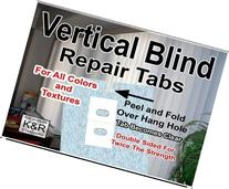 Vertical Blind Repair Tabs, 10 Tabs