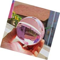 Asian Rare Natural Quartz Pink Magic Crystal Healing Ball