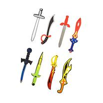 Assorted Foam Toy Swords for Children with Different Designs