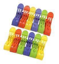 Attmu Beach Towel Clips , Towel Holder in Fun Bright Colors