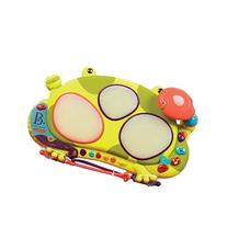 B. Toys Ribbit-Tat-Tat Light-Up Musical Drum - Ages 2 and Up