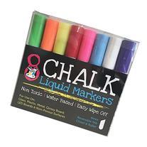 Liquid Chalk Pens 8 Pack | Chalk Marker Pens with Reversible