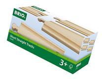 BRIO Short Straight Tracks