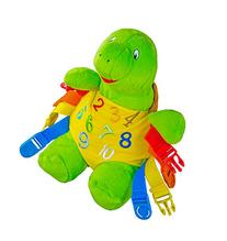 "BUCKLE TOY ""Bucky"" Turtle - Toddler Early Learning Basic"