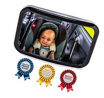 Baby Backseat Mirror for Car - View Infant in Rear Facing