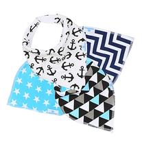 Baby Bandana Bibs for Drooling and Teething - Extra