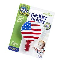 Baby Buddy American Baby Pacifier Holder. Styles may vary