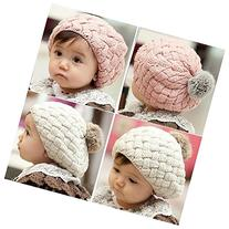 Baby Hat Kids Baby Photo Props Beanie,faux Rabbit Fur Gorros
