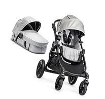 Baby Jogger City Select Black Frame Stroller w/ Bassinet Kit
