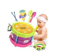Baby Roll Drum Musical Instruments Kids Drum Set Children