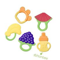 Baby Teething Toys - BPA Free Natural Organic Freezer Safe