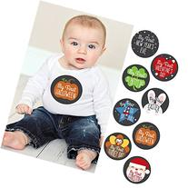 Baby's First Holidays Milestone Stickers - Set of 8