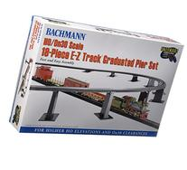 Bachmann Trains 18 PC. E-Z TRACK Graduated Pier Set