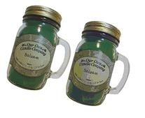 Balsam Pine 13oz 2-Pack Scented Soy Blend Candles in Mason