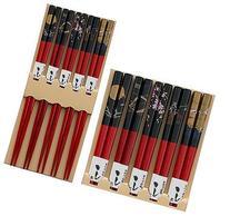 Happy Sales HSCH84/S,  Bamboo Chopsticks Gift Set Crane