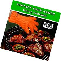 Barbecue Gloves & Pulled Pork Claws Set - Silicone Heat