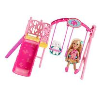 Barbie Sisters Chelsea Swing Set
