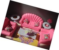 gloria Barbie Size Dollhouse Furniture - Living Room Set