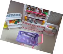 Barbie Size Dollhouse Furniture-supermarket Shopping Cart