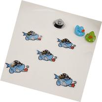 Bathtub Stickers Shark Cute - Shower Decals Kids Babies