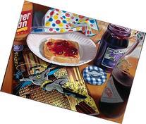 Batman Peanut Butter Modern Art for Child's Room, Rec Room,