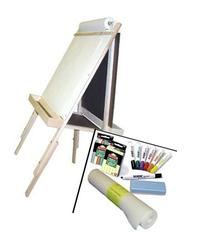 """""""Beka Adjustable Double-Sided Easel-and-Supplies Combo #2,"""