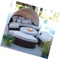 Belham Living All-weather Wicker Sectional Outdoor Daybed