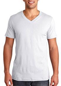 Bella + Canvas Unisex Jersey Short-Sleeve V-Neck T-Shirt M