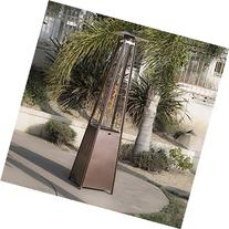 Belleze Outdoor Patio Heater Pyramid w/Dancing Flame with
