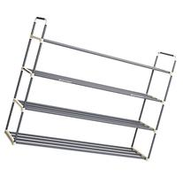 Home-Complete HC-2103 Shoe Rack with 4 Shelves-Four Tiers