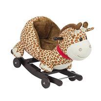 Best Choice Products Kids Giraffe Animal Rocker W/ Wheels