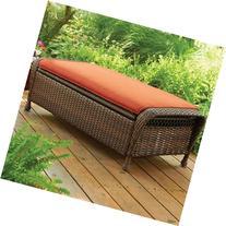 Better Homes and Gardens Azalea Ridge Storage Ottoman - Rust